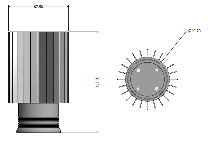 Downlight CAD Lephos LED Garden Lights